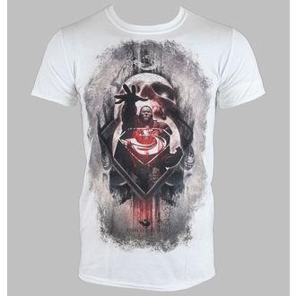 tričko pánské Man Of Steel - Zod Skull - White - LIVE NATION - 10774
