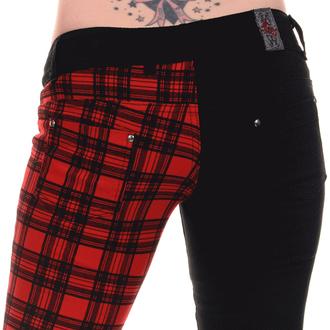 kalhoty dámské 3RDAND56th - Black/Red - JM1266