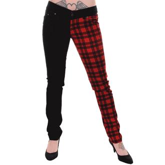kalhoty dámské 3RDAND56th - Black/Red