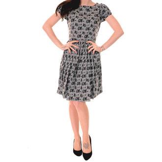 šaty dámské 3RDAND56th - Pleated Pug - Silver/Grey - JM1254