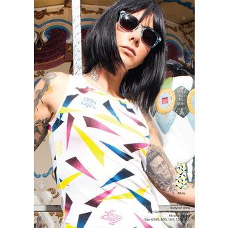 šaty dámské SANTA CRUZ - Strip Mix - White, SANTA CRUZ