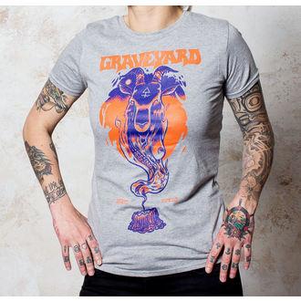 tričko dámské Graveyard - Satan - Sports Grey - BUCKANEER, Buckaneer, Graveyard