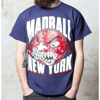 tričko pánské Madball - Red Ball - Navy - BUCKANEER, Buckaneer, Madball