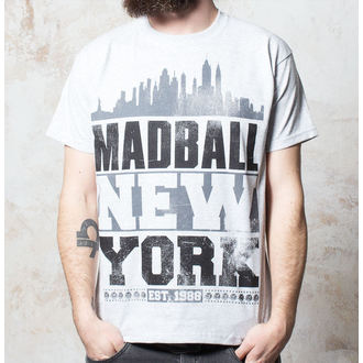 tričko pánské Madball - Skyline - Heather Grey - BUCKANEER, Buckaneer, Madball