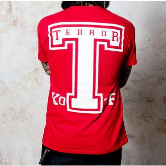 tričko pánské Terror - BigT - Red - BUCKANEER, Buckaneer, Terror