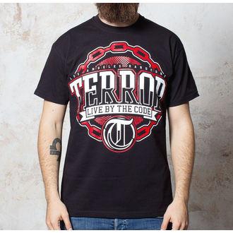 tričko pánské Terror - Chain - Black - BUCKANEER, Buckaneer, Terror