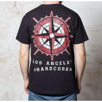 tričko pánské Terror - Compass - Black - BUCKANEER, Buckaneer, Terror