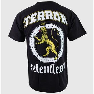tričko pánské Terror - Relentless - Black - BUCKANEER, Buckaneer, Terror