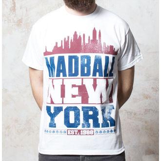 tričko Madball - Skyline - White - BUCKANEER, Buckaneer, Madball