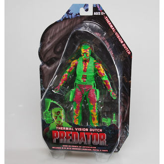 figurka Predator 2 - Thermal Vision Dutch, NECA