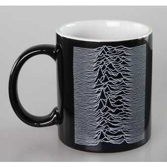 hrnek Joy Division - Unknown Pleasures - Black - ROCK OFF, ROCK OFF, Joy Division