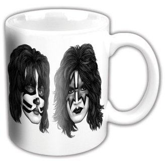 hrnek KISS - Graphite Faces - ROCK OFF, ROCK OFF, Kiss