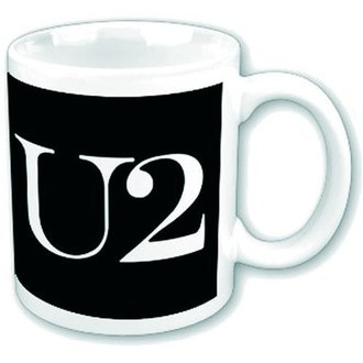 hrnek U2 - Logo - ROCK OFF, ROCK OFF, U2