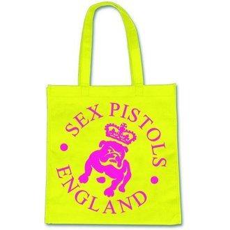 taška (kabelka) Pink Floyd - Sex Pistols - Bulldog Logo - ROCK OFF, ROCK OFF, Sex Pistols