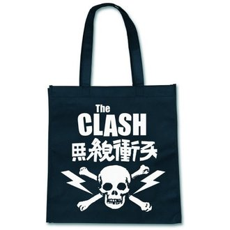 taška (kabelka) The Clash - Skull - ROCK OFF - CLECOBAG01T