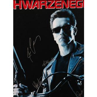 plakát s podpisy Terminator 2