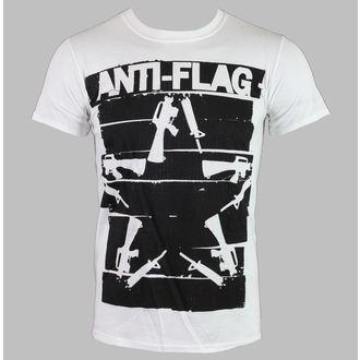 tričko pánské Anti-Flag - Duct Tape Guns Star - White - KINGS ROAD, KINGS ROAD, Anti-Flag