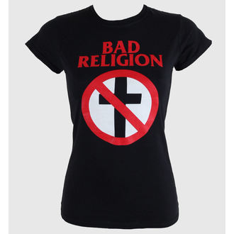 tričko dámské Bad Religion - Cross Buster - Black - KINGS ROAD, KINGS ROAD, Bad Religion