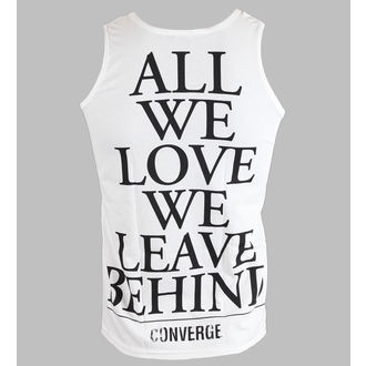 tílko pánské Converge - All We Love - White - KINGS ROAD, KINGS ROAD, Converge