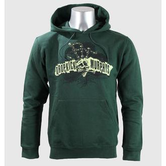 mikina pánská Dropkick Murphys - Mohawk Skull - Green Bottle - KINGS ROAD - 45440