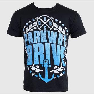 tričko pánské Parkway Drive - Anchor Bold - Black - BUCKANEER - 001-1792-001