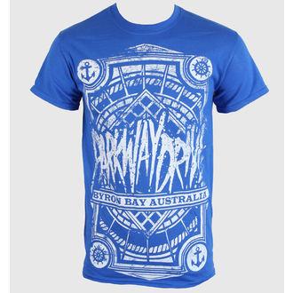 tričko pánské Parkway Drive - Byron Bay Royal - Blue Royal - KINGS ROAD - 01756