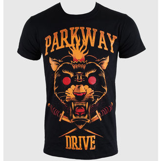 tričko pánské Parkway Drive - Panther Torch - Black - KINGS ROAD - 54053
