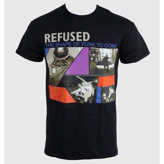 tričko pánské Refused - The Shape Of Punk - Black - KINGS ROAD - 20000316