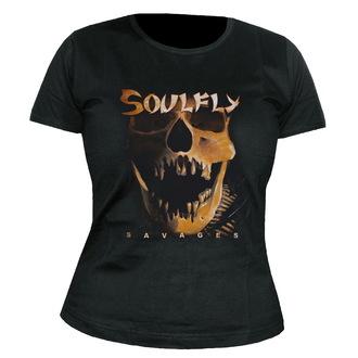 tričko dámské Soulfly - Savages - NUCLEAR BLAST, NUCLEAR BLAST, Soulfly