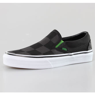 boty VANS - Classic Slip-On (Captain Fin) - Check/Black - VUC4CP0