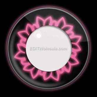 kontaktní čočka PINK BUTTERFLY UV - EDIT, EDIT
