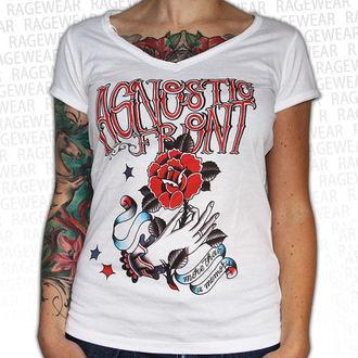 tričko dámské Agnostic Front - Memory - White - RAGEWEAR