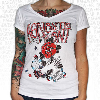 tričko dámské Agnostic Front - Memory - White - RAGEWEAR, RAGEWEAR, Agnostic Front