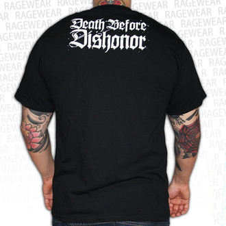 tričko pánské Death Before Dishonor - Black Bats - Black, RAGEWEAR, Death Before Dishonor