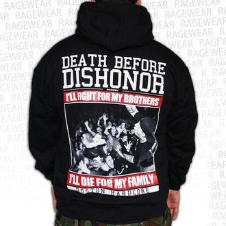 mikina pánská Death Before Dishnor - Live Shot - Black - RAGEWEAR