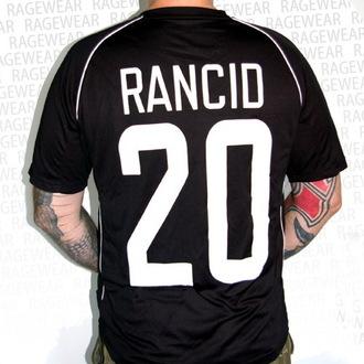 tričko pánské (dres) Rancid - Hooligans - Black - RAGEWEAR, RAGEWEAR, Rancid