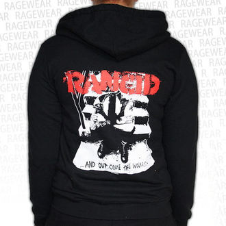 mikina dámská Rancid  - Wolves - Black - RAGEWEAR, RAGEWEAR, Rancid
