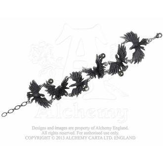 náramek Flocking Ravens - ALCHEMY GOTHIC, ALCHEMY GOTHIC