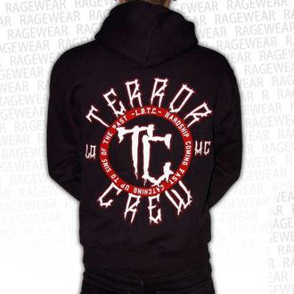 mikina pánská Terror - Hardship - Black - RAGEWEAR, RAGEWEAR, Terror