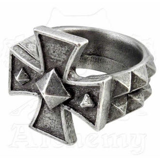 prsten Cross Of Iron - ALCHEMY GOTHIC - R196