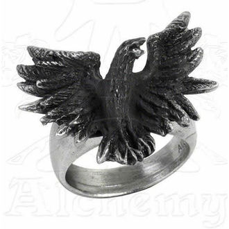 prsten Flocking Raven - ALCHEMY GOTHIC - R197