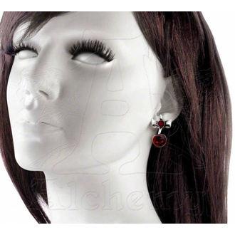 náušnice Black Cherry - ALCHEMY GOTHIC