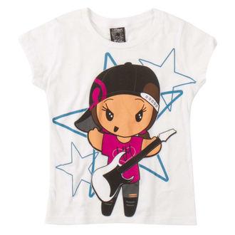 tričko dětské METAL MULISHA - JAMMIN - WHT