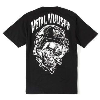 tričko pánské METAL MULISHA - SPEW TRIKO - BLK