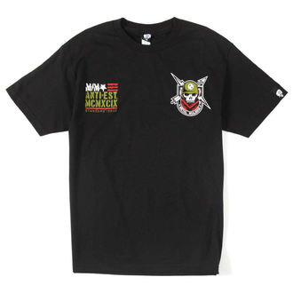 tričko pánské METAL MULISHA - BOLTS & ARROWS - BLK