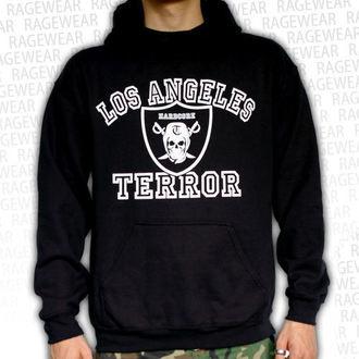 mikina pánská Terror - Los Angeles - Black  - RAGEWEAR, RAGEWEAR, Terror