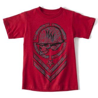 tričko dětské METAL MULISHA - SHRED - RED