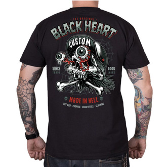tričko pánské BLACK HEART - FULL PUNK - BLACK, BLACK HEART