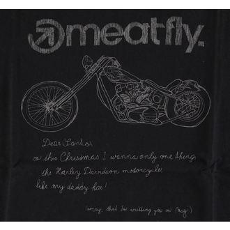 tričko pánské MEATFLY - WISHLIST B, MEATFLY