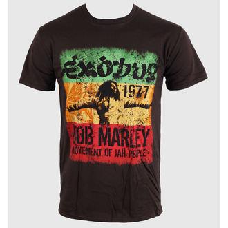 tričko pánské Bob Marley - Movement Dk - Brwn - ROCK OFF, ROCK OFF, Bob Marley